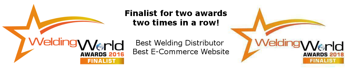 Best Welding Distributor and Best Ecommerce Website Finalists