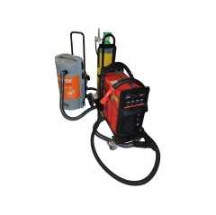 250 amp mig welder complete with 4m fume extraction torch & kemper fume filter