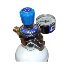 Disposable Gas Canister Regulator M10 Thread R/h