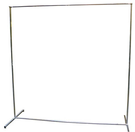 Futuris FUT060300 - 6 x 6' Curtain Frame - Extendable 8ft