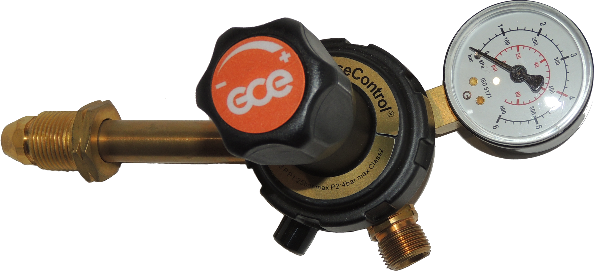 GCE - Propane Regulator 1 Gauge 0-4 bar