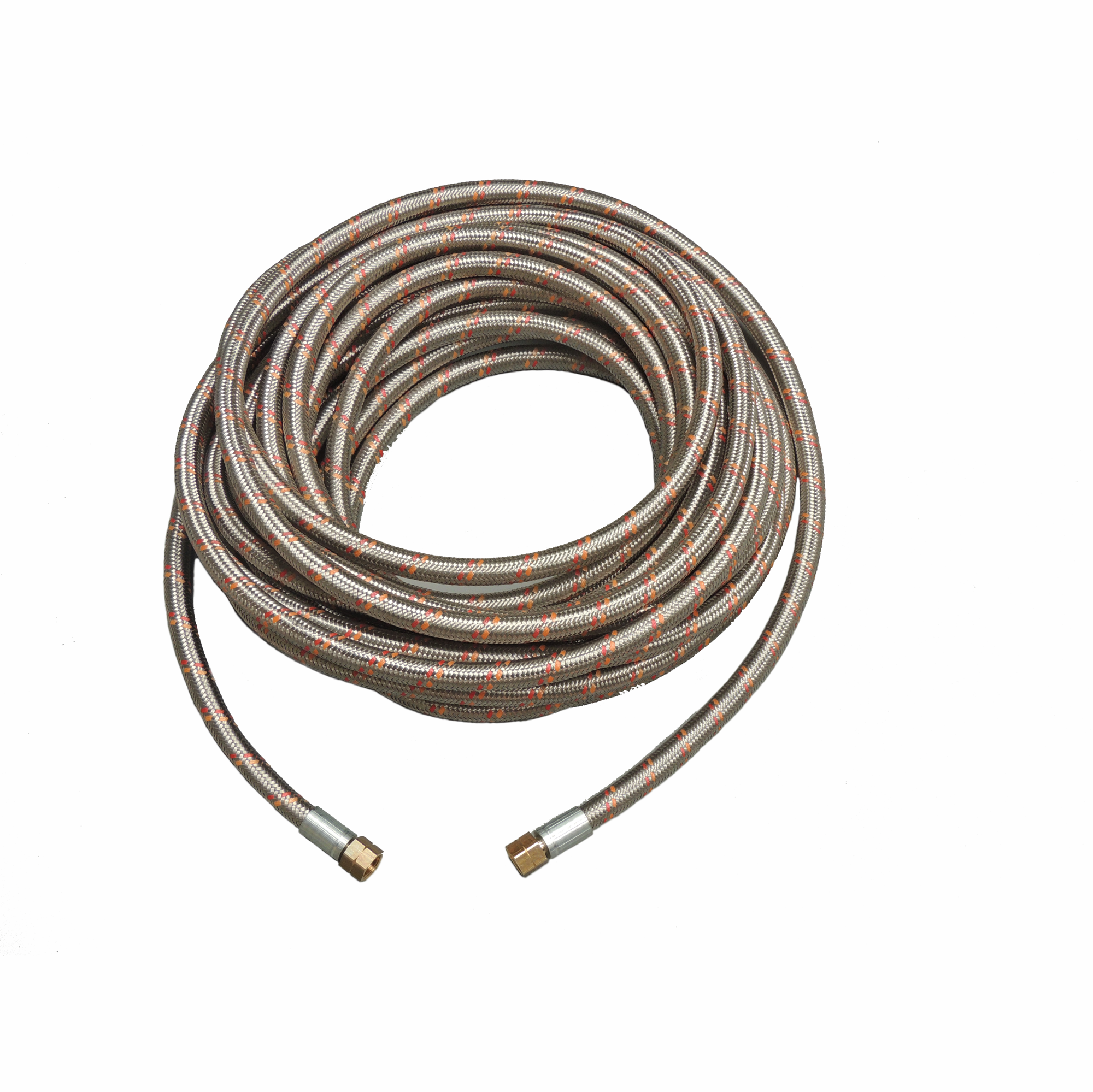 Heavy Duty LPG Hose with Stainless Steel overbraid G1/2