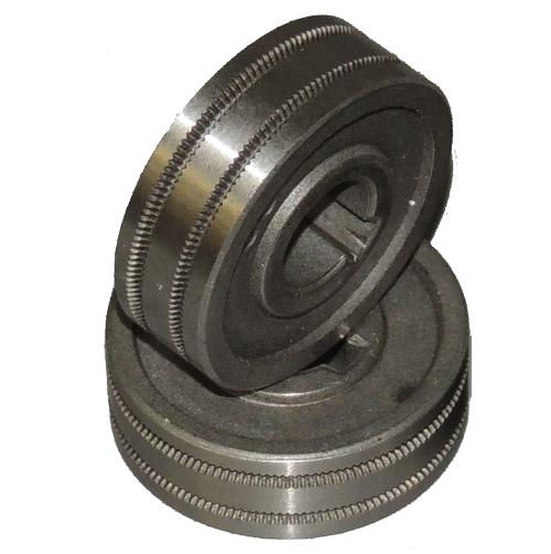 Gasless MIG Wire drive roll Knurled Roller