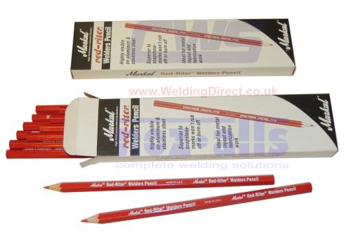 Metal Marking /& Welding La-Co Markal Red-Riter /& Silver-Streak Welders Pencil