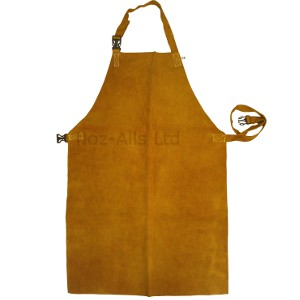 Elite Gold Leather Welding Apron