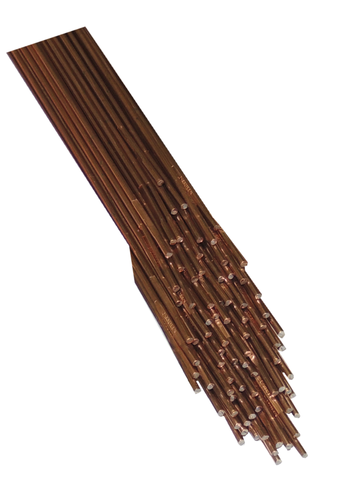 CCMS - Copper Coated Rods - 2,4mm Mild Steel Welding Rods For Oxy / Acetylene Fusion Welding