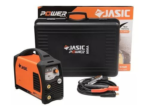 Jasic 180 Amp stick welding set including case