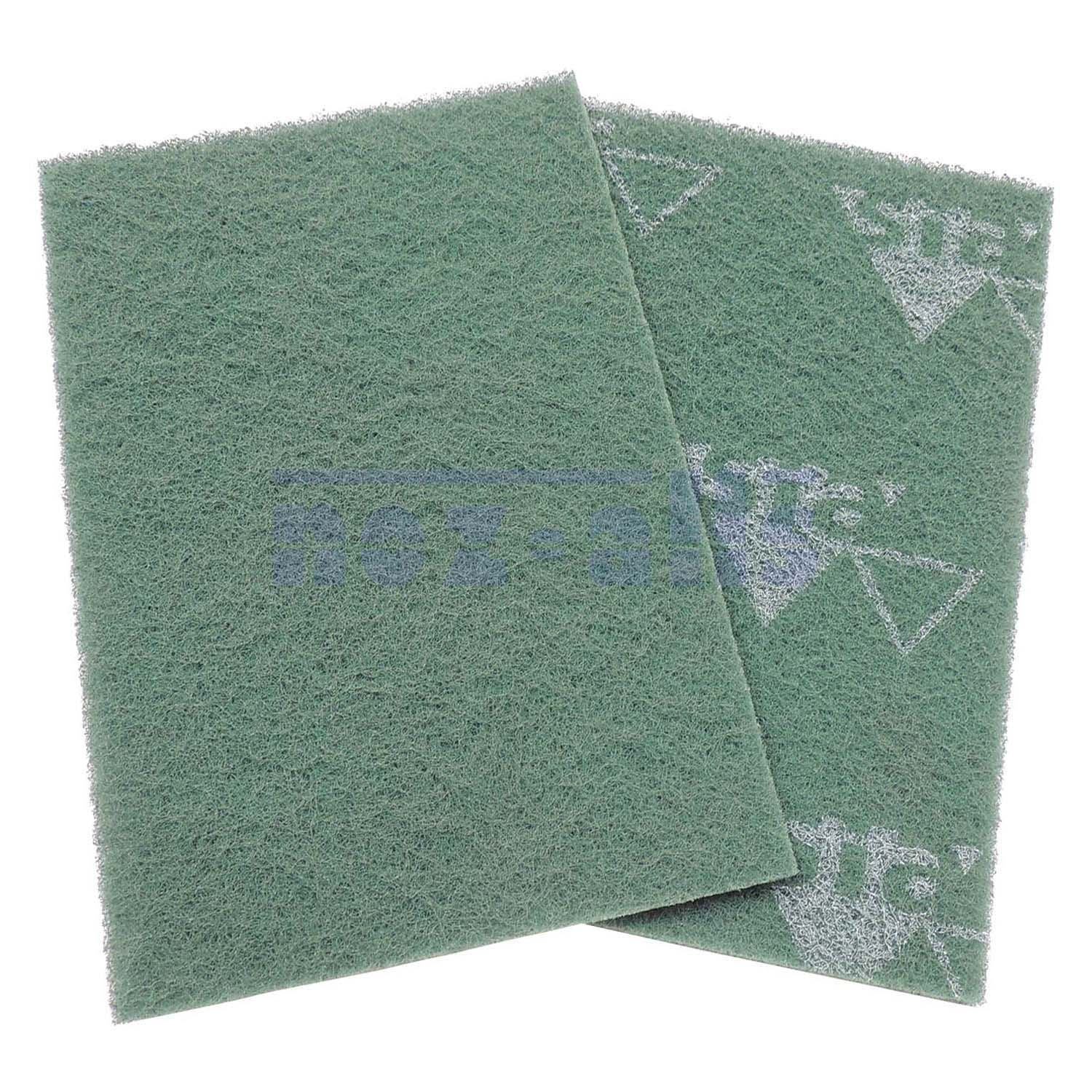 SIA Fleece Green Hand Pads - Cut 100